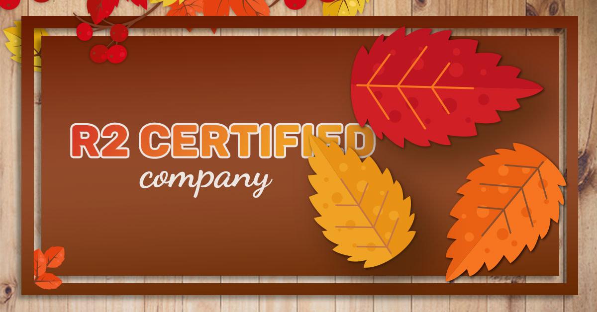 OceanTech – R2 certified company
