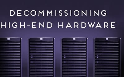 Decommissioning High-End IT Hardware