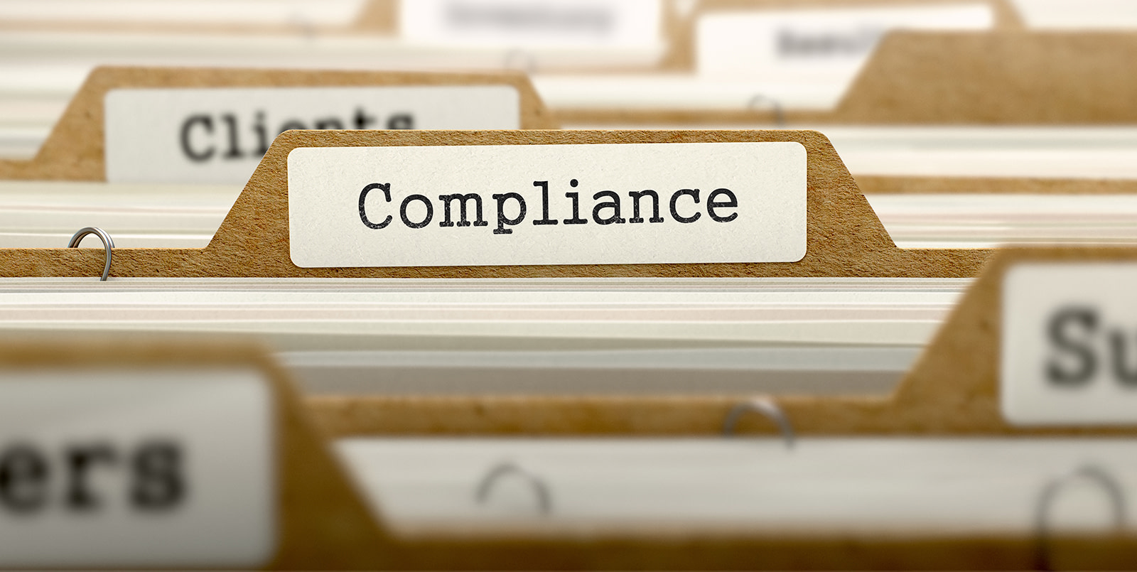 Get ahead of compliance