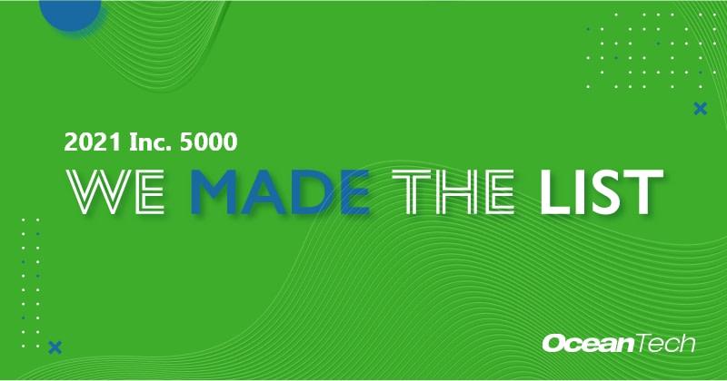 We made the 2021 Inc. 5000 List