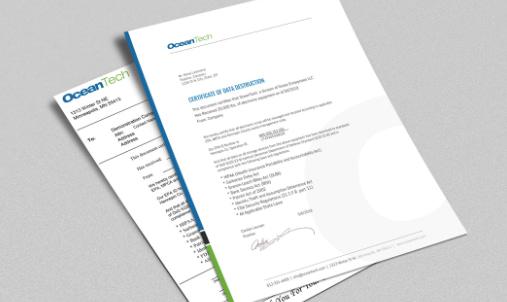 certificate 2 it asset disposition
